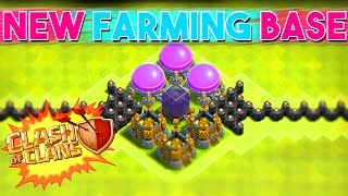 getlinkyoutube.com-Clash of Clans - NEW MAX TH8 FARMING BASE - PROTECT YOUR LOOT