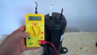 getlinkyoutube.com-Testar e Verificar Compressor Queimado ou Defeito Ar Condicionado