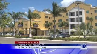 Acuerdo con Seminoles en el Suroeste de Florida