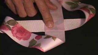 getlinkyoutube.com-How to Make a Boutique Hair Bow Instructions - Daddy Fold our Easiest Boutique Fold Ever!