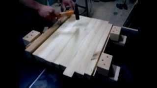 getlinkyoutube.com-Как склеить щит без струбцин и вайм