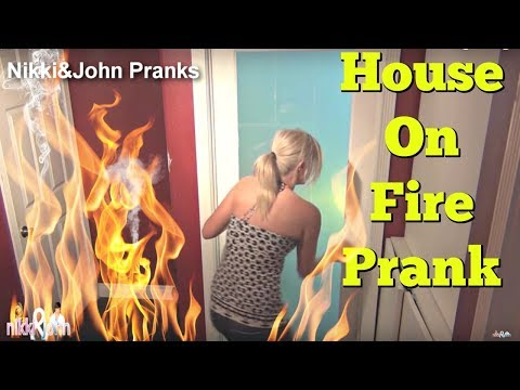 Epic Fire Prank