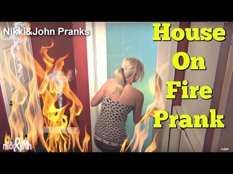 Epic Fire Prank