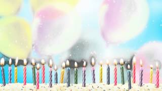 Fondo Video Background Full HD Cumpleaños