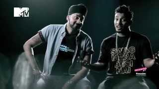 getlinkyoutube.com-The Story behind Swag Mera Desi   Panasonic Mobile MTV Spoken Word   Raftaar   Manj Musik