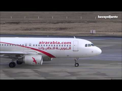 Air Arabia take off at Cologne Bonn Airport (CGN) to Nador (NDR)