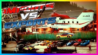 getlinkyoutube.com-GTA ONLINE 'IMPORTS VS EXPORTS' FREEMODE SPECIAL - BEST CARS TO CUSTOMIZE, EXOTIC VEHICLES & MORE!