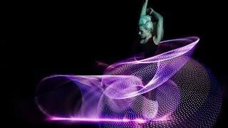 getlinkyoutube.com-Amazing Hula Hoop Dancer Lisa Lottie Spins 6 Phoenix Hoops
