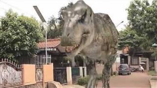 getlinkyoutube.com-3D Animation - T-rex Chasing Me