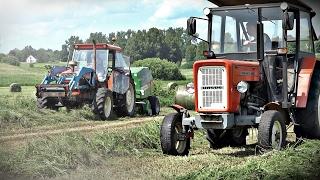 getlinkyoutube.com-Sianokosy z polskimi maszynami - Ursus C360, 1224 & ZTS 16245 ㋡ Bronczek