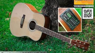Tanglewood DBTDLXD EQ Review by Freedom Uku Music