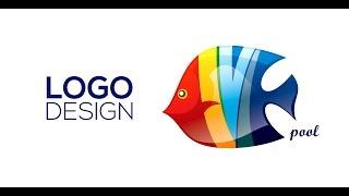 getlinkyoutube.com-Professional Logo Design - Adobe Illustrator cc (Pool)