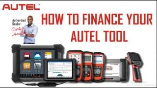 How To Finance Any Autel Diagnostic Tool ( With Out The Bank Being Invloved)