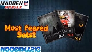 Madden Mobile 16 Sets| Behemoth| Goliath| Haunted House & More!!