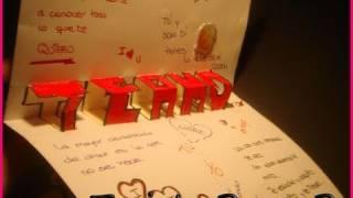 "getlinkyoutube.com-Tarjeta Pop Up ""Te Amo"" ||Manualidades para San Valentin"