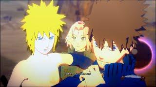 getlinkyoutube.com-Naruto Ultimate Ninja Storm 4 PC MOD - Naruto Sasuke Hair Swap All Ultimate Team Ougi