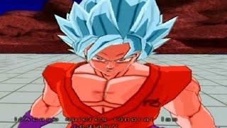 getlinkyoutube.com-Goku Super Saiyan Blue Kaioken x10 VS Hit Parte 2 Mod Historia Dragon Ball Tenkaichi 3