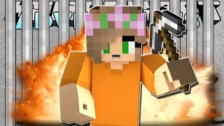 Minecraft-Little Kelly Adventures- LITTLE KELLY BREAKS OUT OF PRISON!