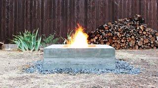getlinkyoutube.com-How to make an outdoor concrete fire pit