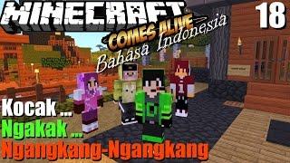 Ciuman Bau pete - minecraft comes alive Bahasa Indonesia Kocak #18