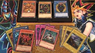 getlinkyoutube.com-Yugioh Yugi's Legendary Decks Opening - Exodia, God Cards, & Dark Magician