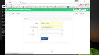 getlinkyoutube.com-Part 2: How to quickly make a Laravel 5.2 app with Registration, Auth and Password Reset