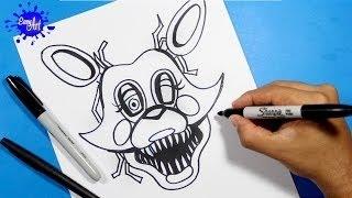 getlinkyoutube.com-wie zeichnen Nights At Freddy ' s /Zeichnen, foxy / how to draw FNAF