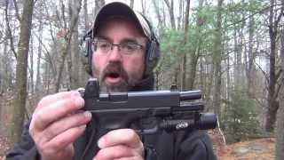 Glock 17 (Gen 4) with Trijicon RMR 3.25 MOA