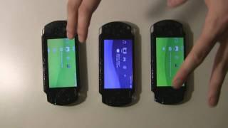 getlinkyoutube.com-Comparações entre os modelos 1000, 2000 e 3000 do PSP (parte 01).