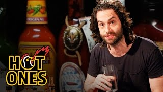 Chris D'Elia Turns Into DJ Khaled While Eating Spicy Wings | Hot Ones width=