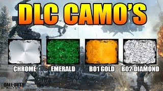 "getlinkyoutube.com-BLACK OPS 3 ""DLC CAMO'S"" - Chrome, Emerald, BO1 Gold, BO2 Diamond etc. WANTED! @DavidVonderhaar"