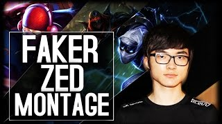 Faker Zed Montage - The Legendary Zed God