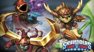 getlinkyoutube.com-Skylanders: Trap Team Kaos Doom Challenge - Enfuego Rain Temple Waves
