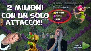 getlinkyoutube.com-2 MILIONI IN UN ATTACCO!!! - Clash of Clans ITA