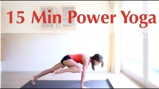 getlinkyoutube.com-15 Minute Power Yoga