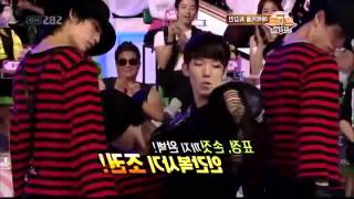 getlinkyoutube.com-T-ara Jiyeon vs. 2AM Jokwon - Michael Jackson dance @ SBS Star Couple