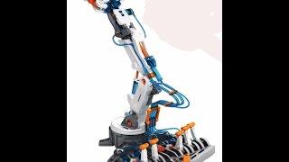 getlinkyoutube.com-DIY kit Hydraulic Robotic Arm@SuperSmartChoices