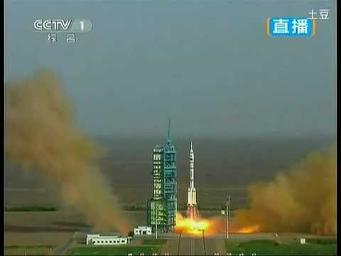 China launches shenzhou 9 spaceship with first female astronaut