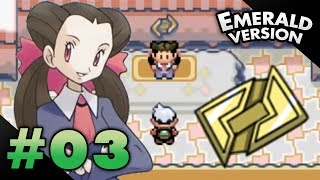 Let's Play Pokemon: Emerald - Part 3 - Rustboro Gym Leader Roxanne width=