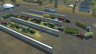 "getlinkyoutube.com-Farming Simulator 2013 Trasporto insilato al biogas con la ""Follow me mods"""