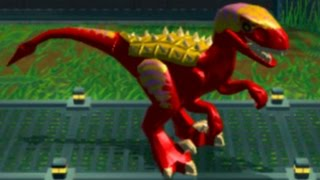 getlinkyoutube.com-LEGO Jurassic World (PS Vita) - All Medium and Small Dinosuars