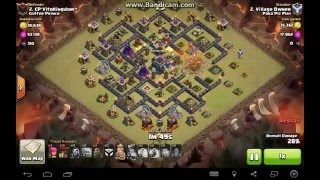 getlinkyoutube.com-Max Defenses TH9 Three Starred by M4X