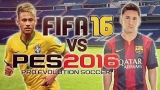 getlinkyoutube.com-Pes 2016 vs FIFA 16  (Игровой поединок)