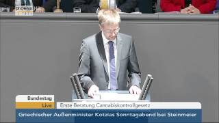 getlinkyoutube.com-Bundestag: Debatte zum Cannabiskontrollgesetz am 20.03.2015