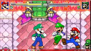 getlinkyoutube.com-Mugen Youtube Poop Battle: Hotel Mario and Gay Luigi vs Super Mama Luigi and Mama Luigi