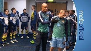 getlinkyoutube.com-City 0-2 Arsenal | TUNNEL CAM | Barclays Premier League 14/15