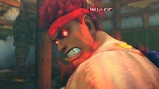 Super Street Fighter 4 IV AE PC Ken Playthrough + Secret Evil Ryu Boss fight 2/2