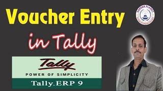 Accounting Vouchers in Tally ERP 9 in Hindi Day-6 |Tally voucher Entry Concepts