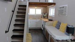 getlinkyoutube.com-Mini Mansions Tiny House Has All The Creature Comforts