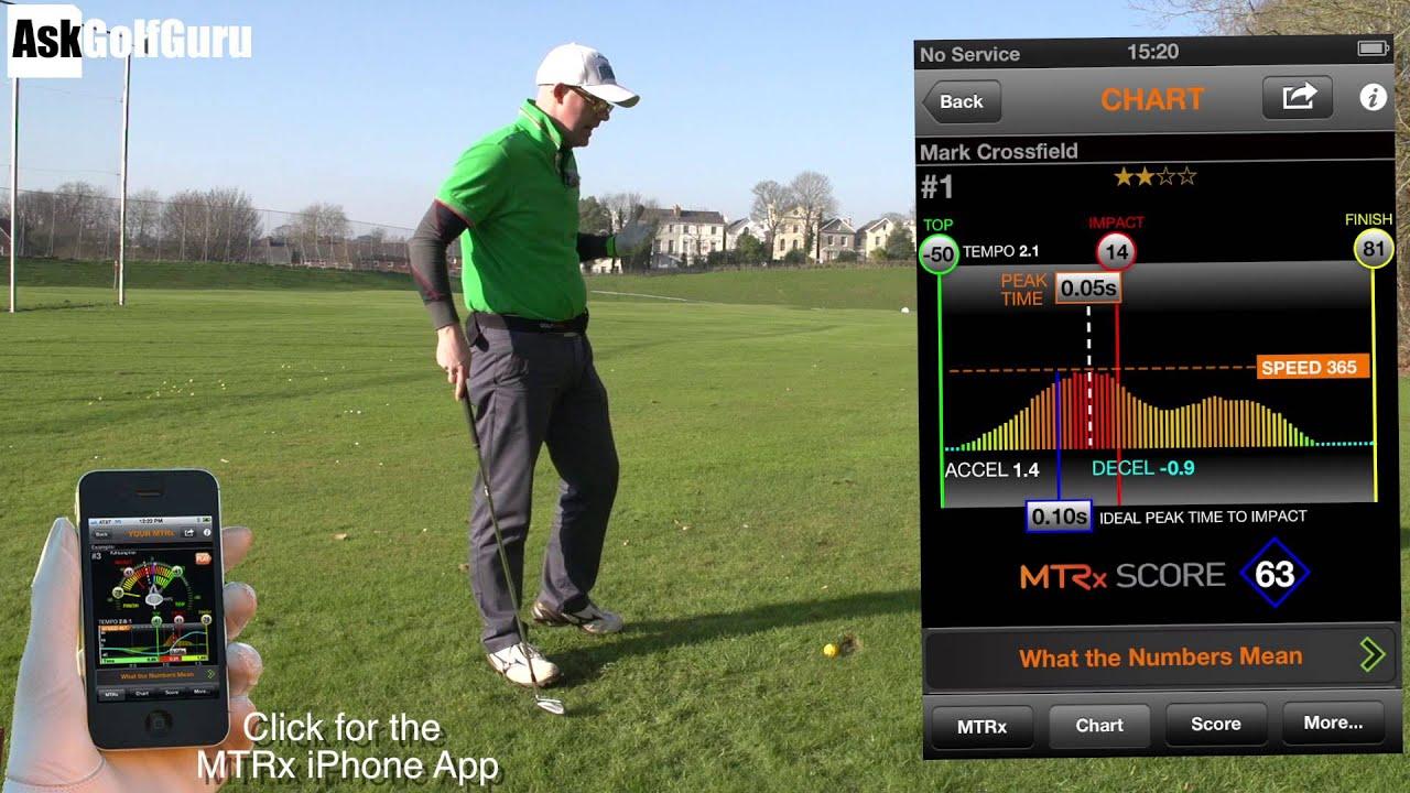 Golf MTRx - app för bättre höftrotation -Johan Sjögren
